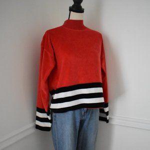 Vintage Nautical Striped Sweatshirt
